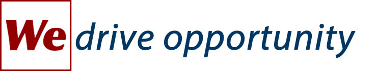 We Drive Opportunity Logo