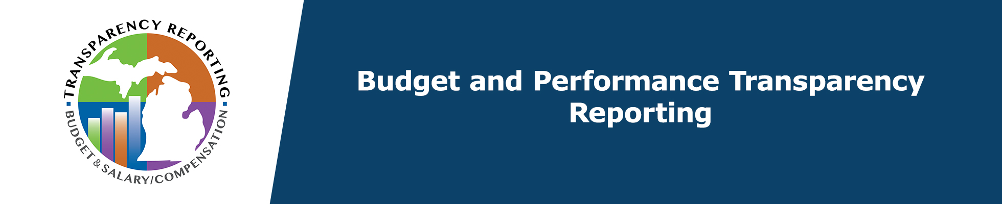 Budget and Performance Transparency Reporting Banner Logo