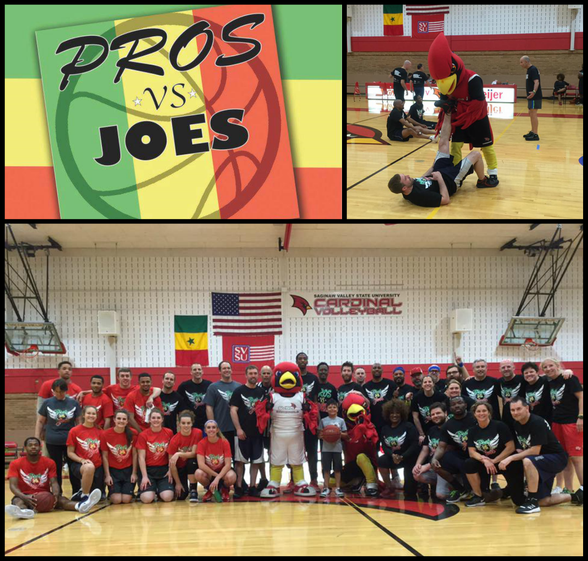 Pros vs. Joes basketball fundraising competition supports the Abou Traore Memorial Scholarships for international students