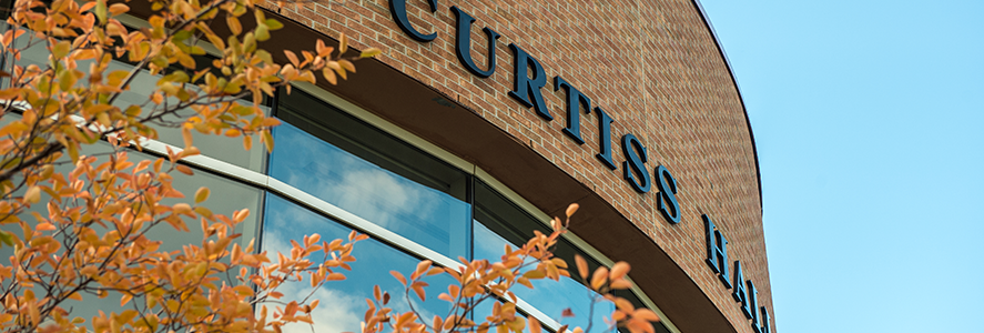 Curtiss Hall close up