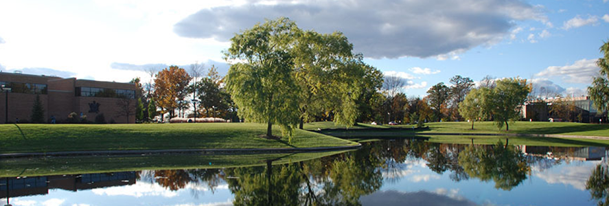 Wickes Hall Pond