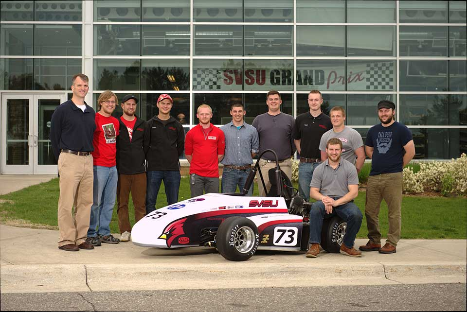 The 2015 team finished in 26th place out of 110 colleges and universities from around the world. They ranked highest among institutions without a graduate program in engineering by placing in the top 15 in acceleration, autocross, cost, presentation and skid pad.