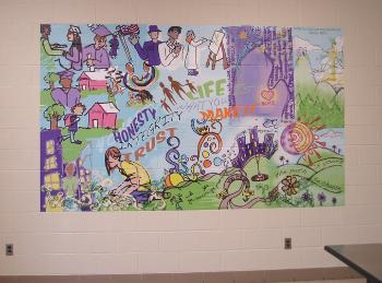Saginaw County Juvenile Detention Facility Mural