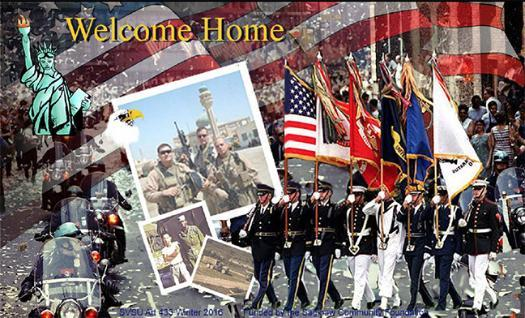 Welcome Home: Veterans Mural