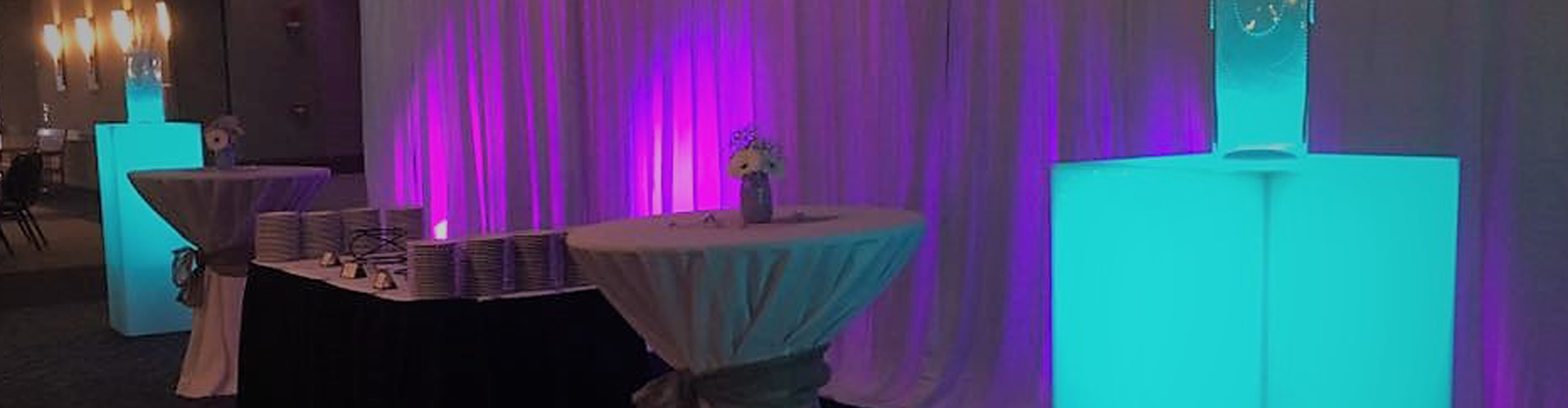 Lighted Decor for Proms and Special Events