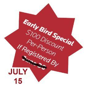 Extended Early Bird Registration