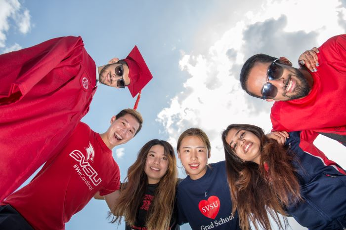 SVSU international students