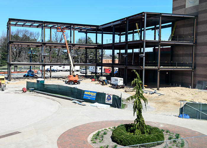 College of Business Construction - April 22, 2019