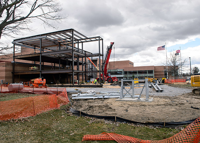 College of Business Construction - April 9, 2019
