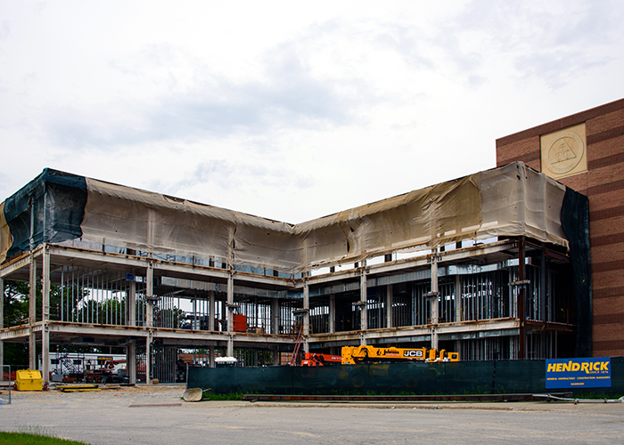College of Business Construction - June 13, 2019