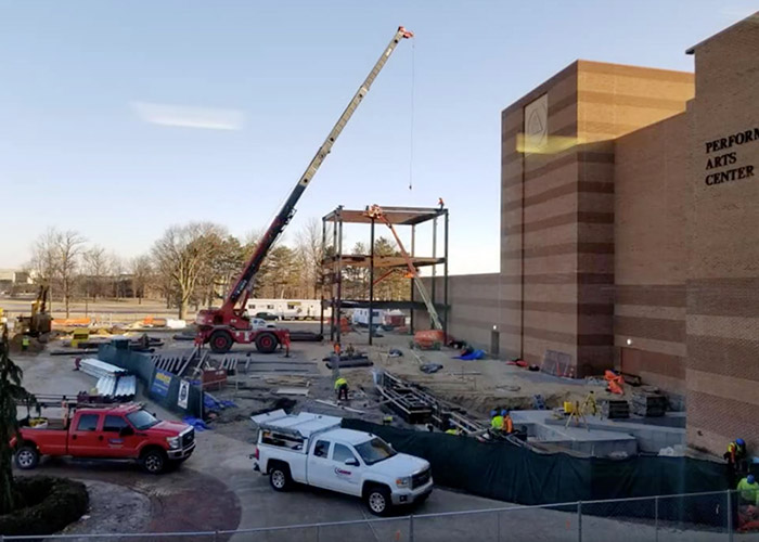 College of Business Construction - March 19, 2019