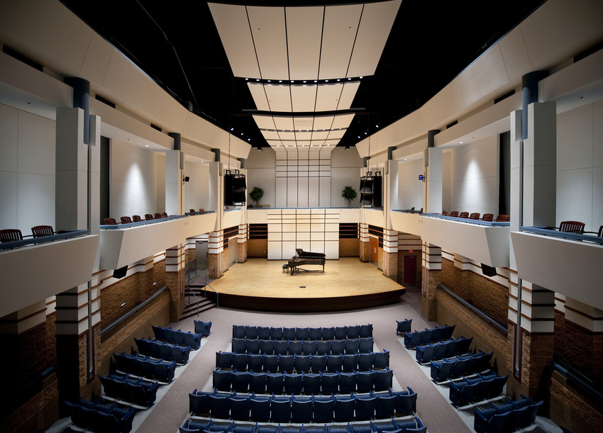 Rhea Miller Recital Hall (home to the Rhea Miller Concert Series)