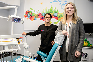 SVSU - February - Student lands scholarship to top dental school