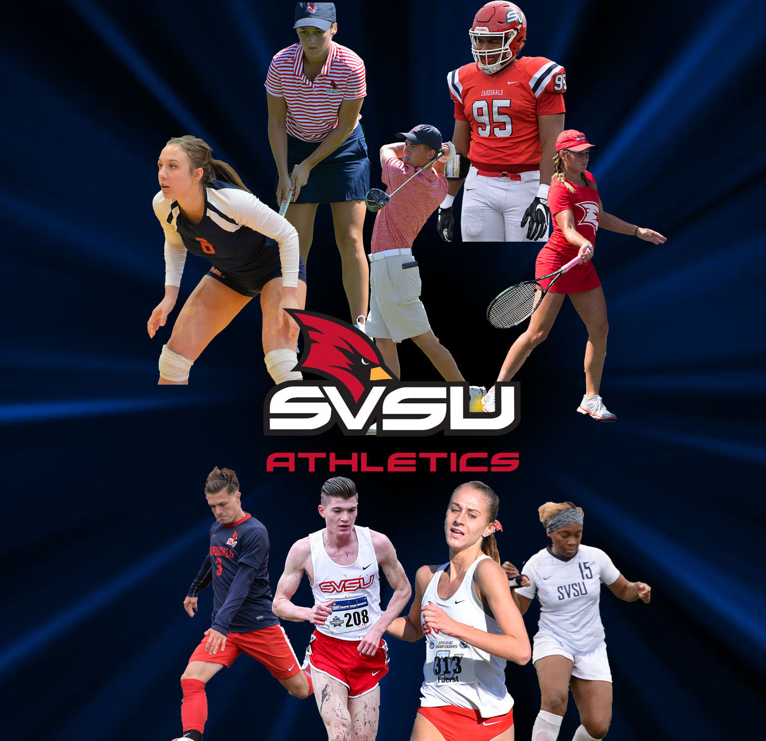 Fall 2019 Athletic Collage