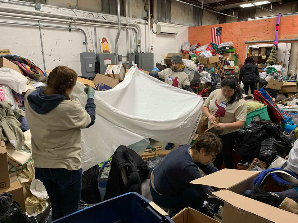 Students participate in the 2020 MLK Day of Service