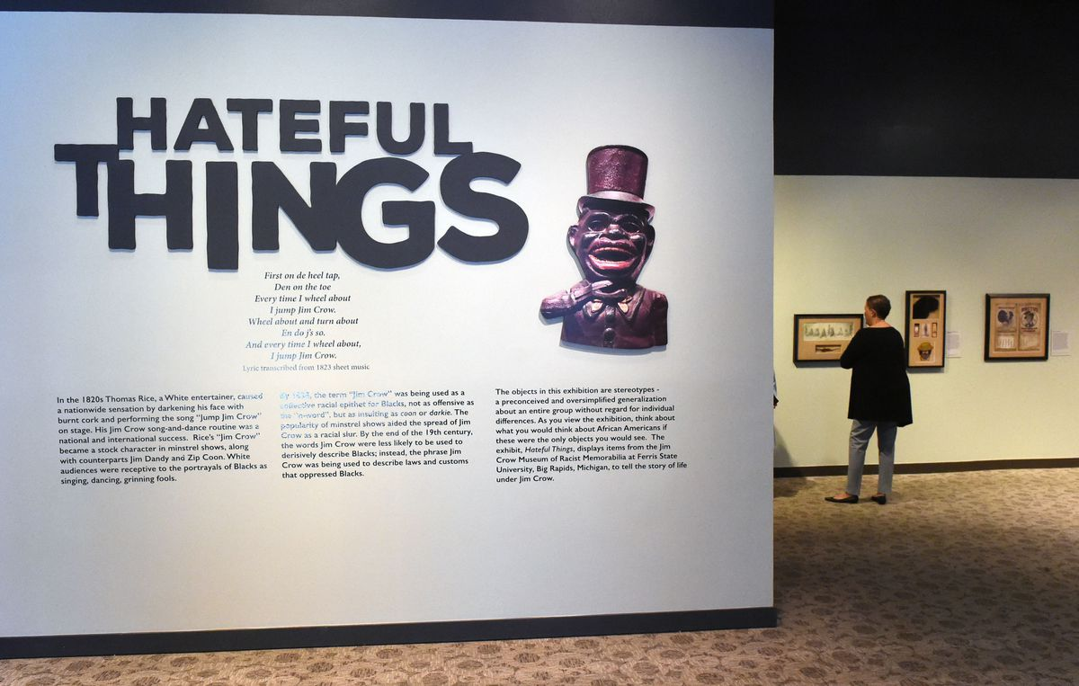 Opening of the hateful things exhibit