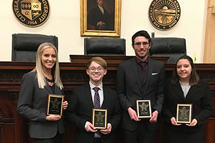 Students compete at national moot court tournament