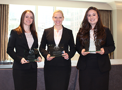 Ashley Chrysler, a 2012 alumna, wins largest law school-level moot court competition.