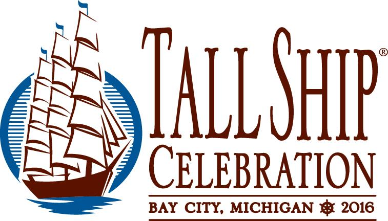 Tall Ships Bay City 2016 logo