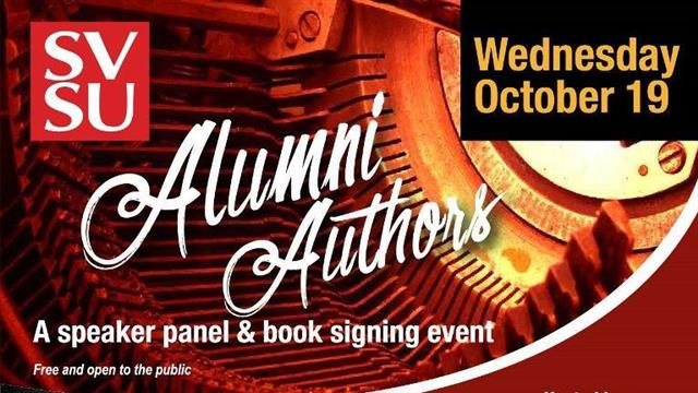 Alumni Authors event on the National Day of Writing, Oct. 19