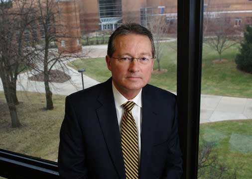 Jim Muladore, executive vice president for Administration & Business Affairs