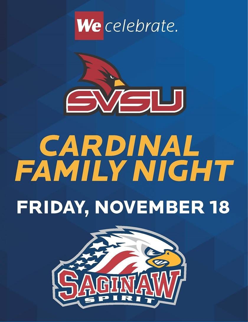 SVSU Appreciation Night at Saginaw Spirit
