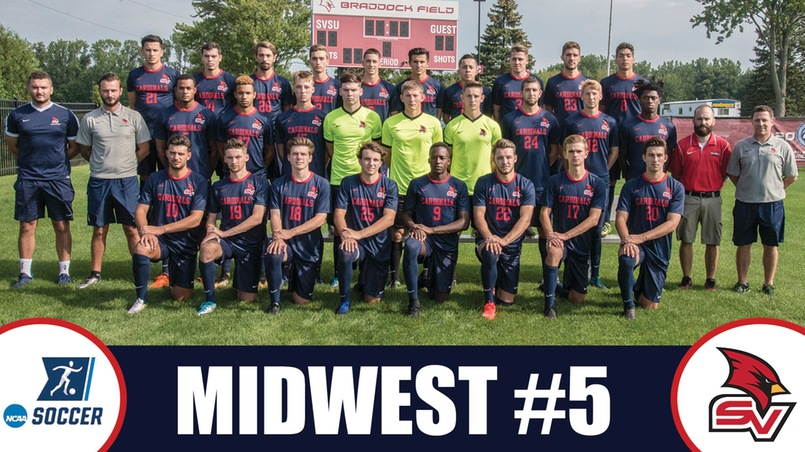 Men's soccer competes as the No. 5 seed in the Midwest Region Division II Tournament.