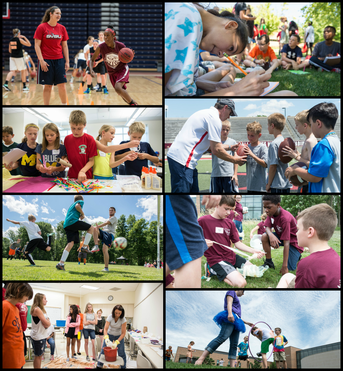 SVSU offers all sorts of summer camp opportunities for children with all types of interests.