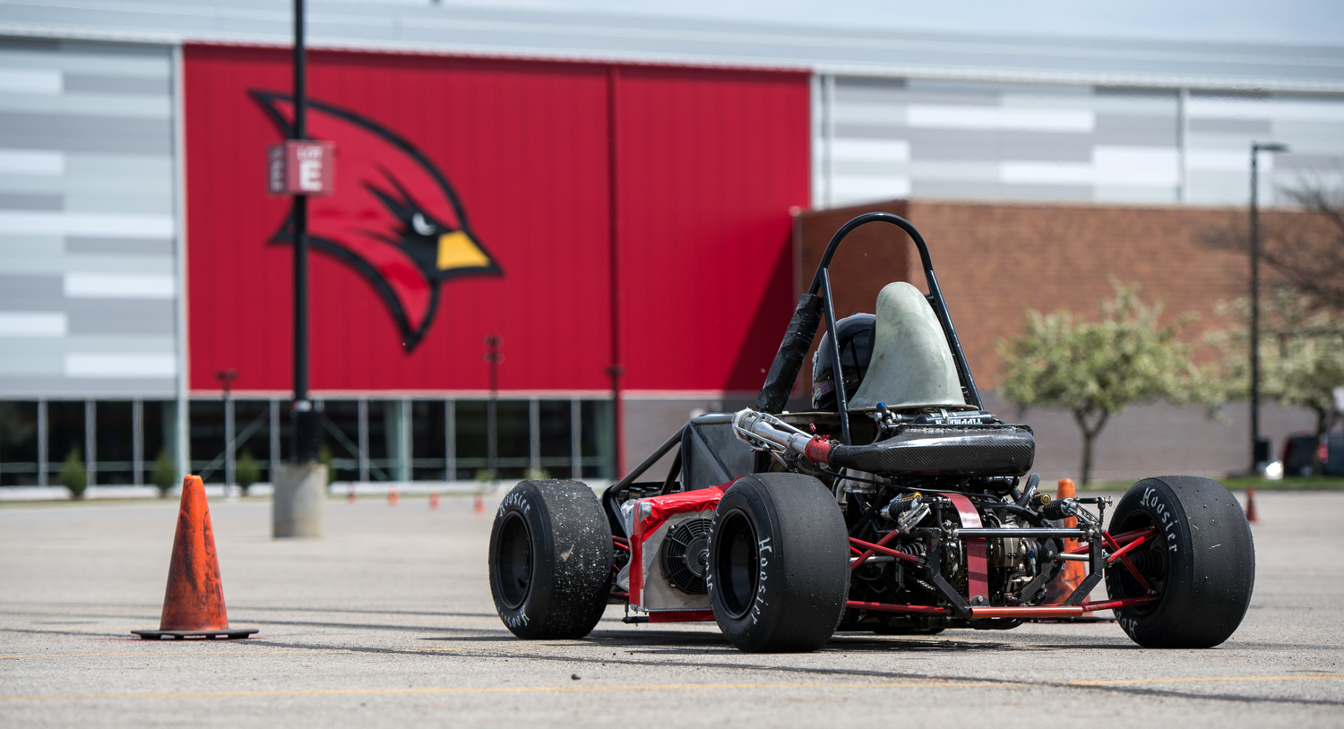 Cardinal Formula Racing team on another successful performance in the annual Formula Society of Automotive Engineers Collegiate Design Series at Michigan International Speedway.
