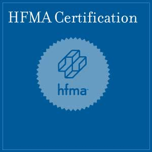 Healthcare Finance Management Association logo certified financial healthcare professional certification