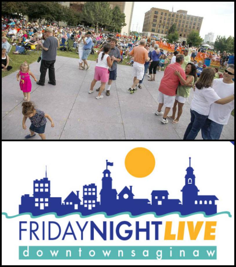 Once again, SVSU will serve as a co-sponsor to one of the six Friday Night Live concerts planned this year.