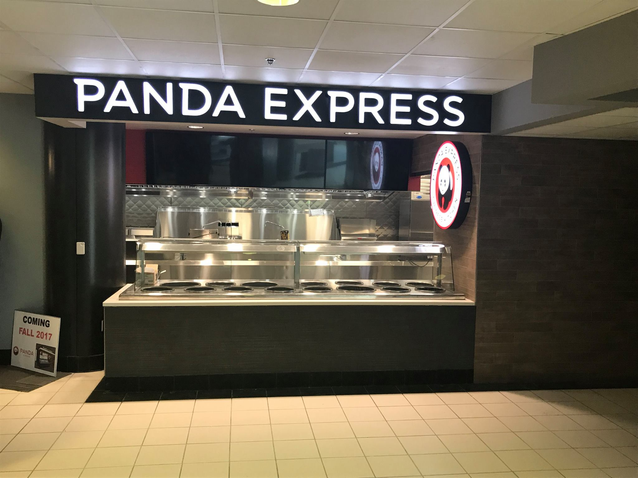 New construction of Panda Express