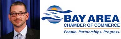 Ryan Tarrant, SVSU alumnus named CEO of Bay City Chamber of Commerce.