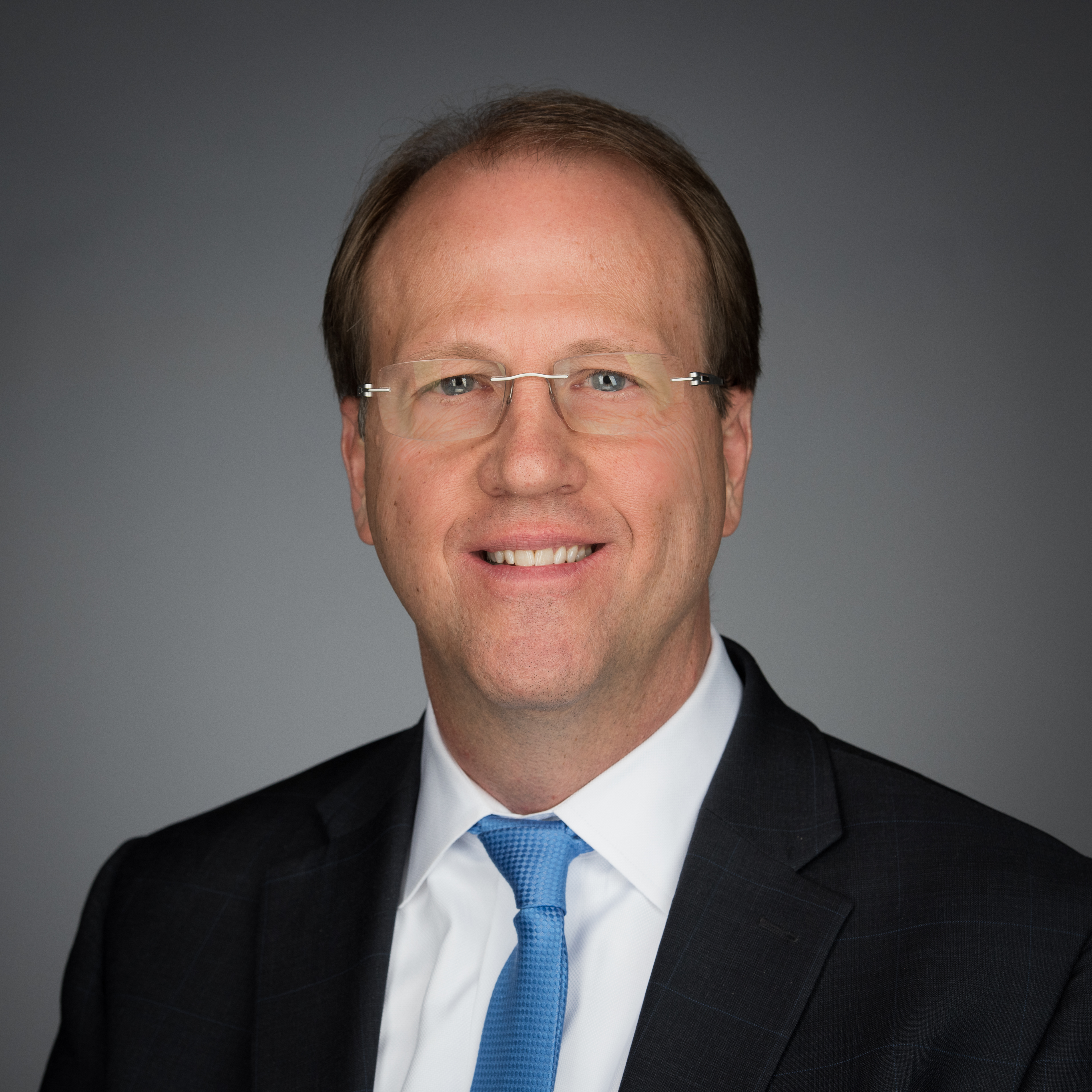 Rob Vallentine, global director of Corporate Citizenship for The Dow Chemical Co. as well as president and executive director of The Dow Chemical Co. Foundation