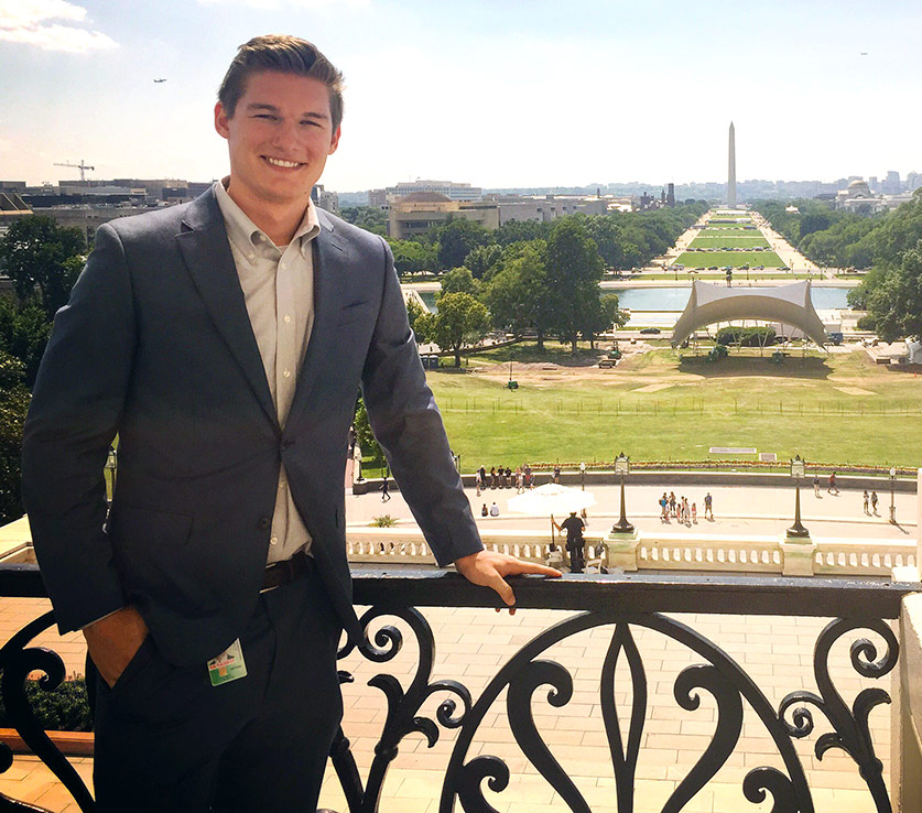 Dan Wunderlich in Washington D.C.