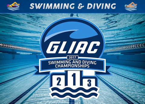 Great Lakes Intercollegiate Athletic Conference Swimming Championships at Saginaw Valley State University