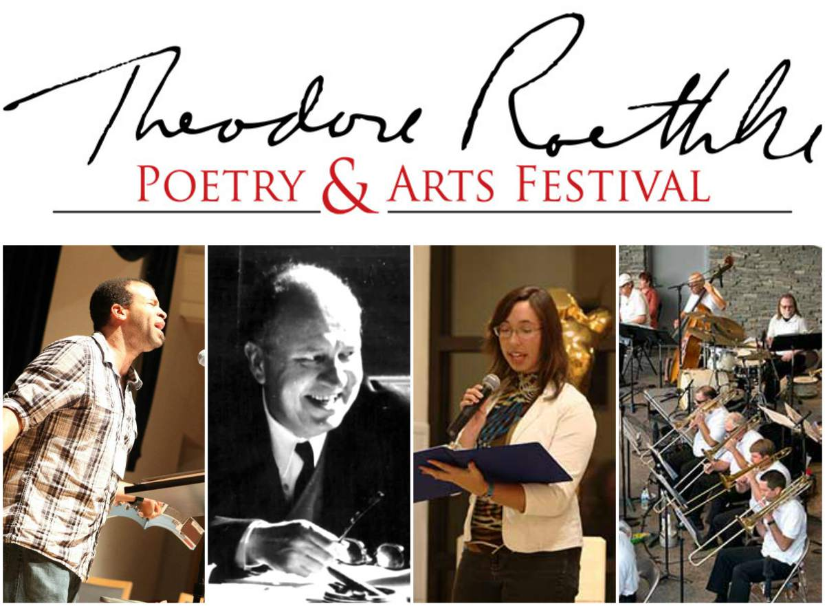 Collage of images for the Roethke Festival