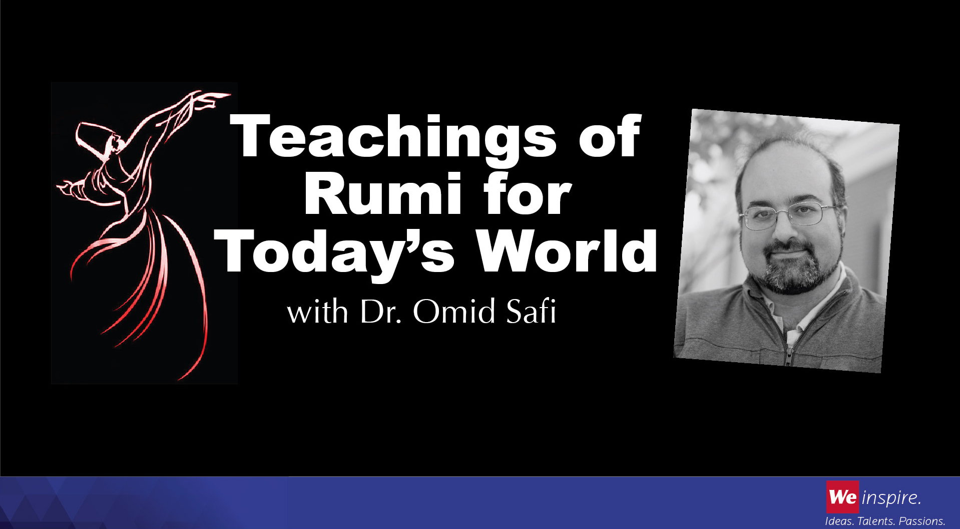 Dr. Raana Akbar Memorial Lecture Series featuring Omid Safi, a leading Muslim public intellectual and director of the Duke Islamic Studies Center