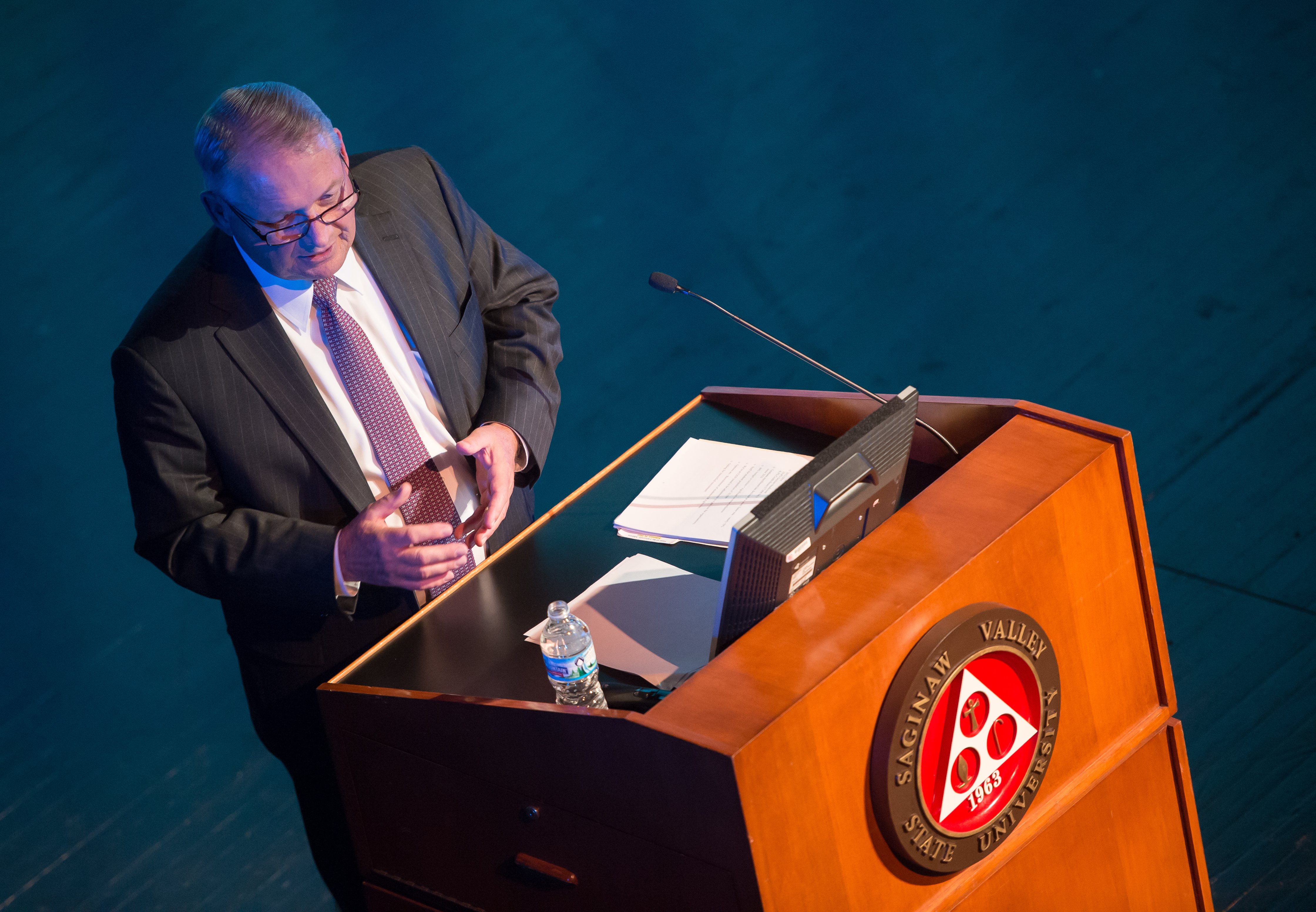 Don Bachand gives State of the University Address