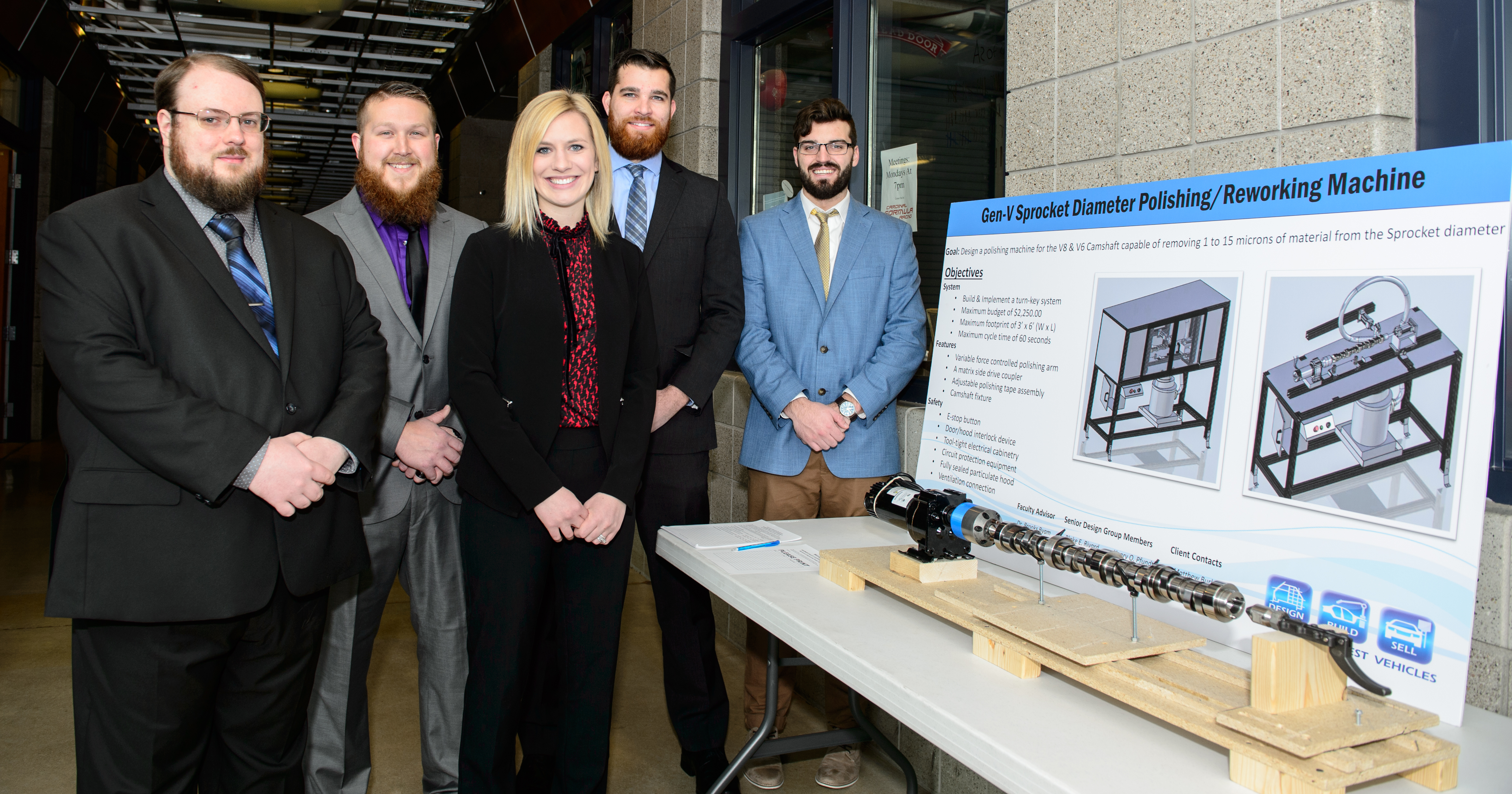 Students showcase their research