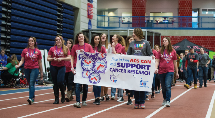 Students and faculty participate in Relay for Life