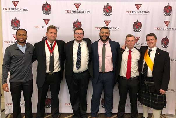 TKE at business event