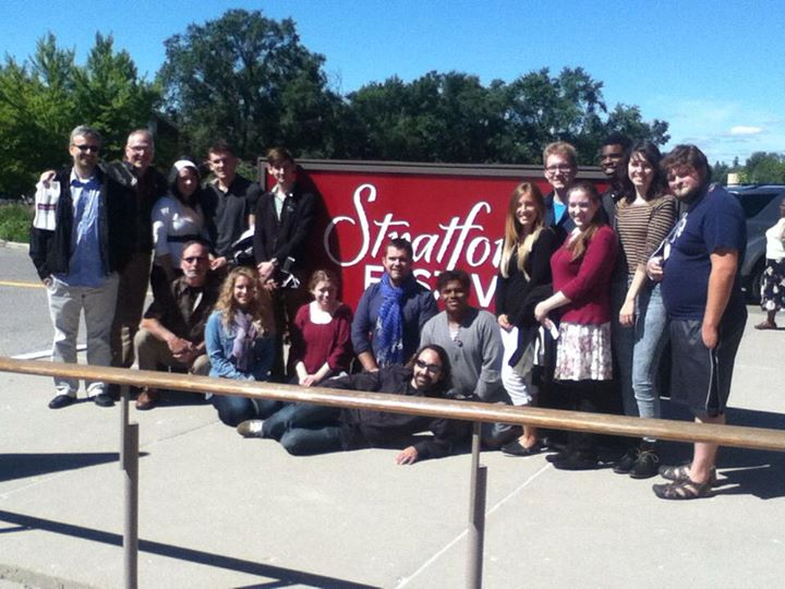 Theater students at Stratford Festival
