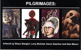Pilgrimage Exhibit postcard
