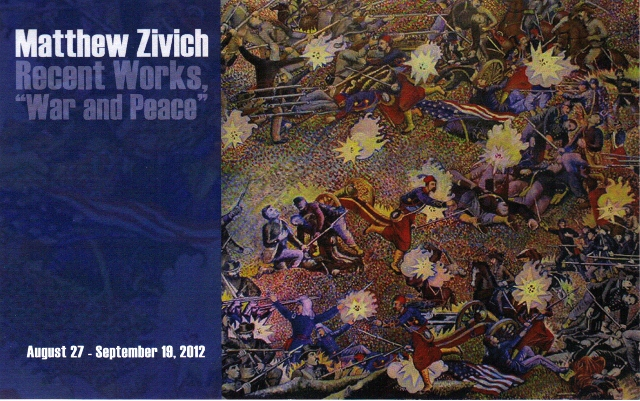 postcard for Matthew Zivich's exhibit