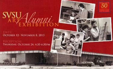 Postcard for Alumni Exhibit October 2013