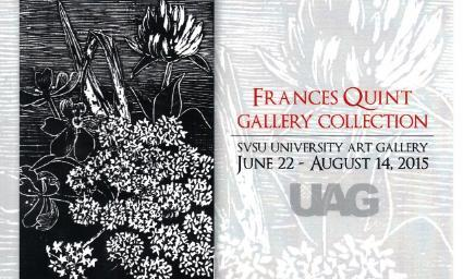 Frances Quint Exhibition postcard