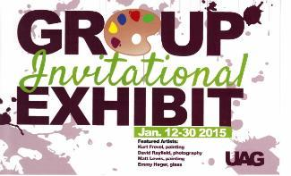 Group Invitational Exhibition - postcard