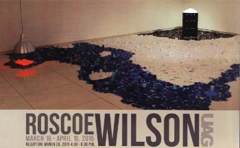 Roscoe Wilson Exhibition Postcard