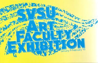 SVSU 2016 Faculty Exhibition